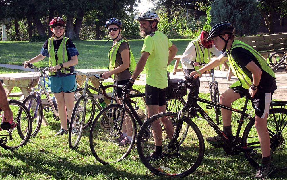 Scattergood biking adventure